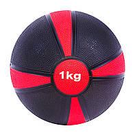 Мяч медицинский (медбол)  1кг D=19см. SC-87273-1