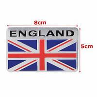 Эмблема флаг Великобритании алюминиевая