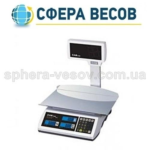 Весы торговые CAS-ER-JR-CBU LT (6 кг)