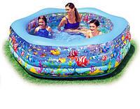 """Детский надувной бассейн 56493 """"Океанский риф"""""""