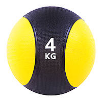 Мяч медицинский (медбол)  4кг D=22см. SC-87034-4