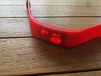 Спортивные силиконовые Led часы red