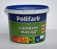 Polifarb СИЛИКОН ФАСАД 4,2кг– Cиликоновая высококачественная краска.