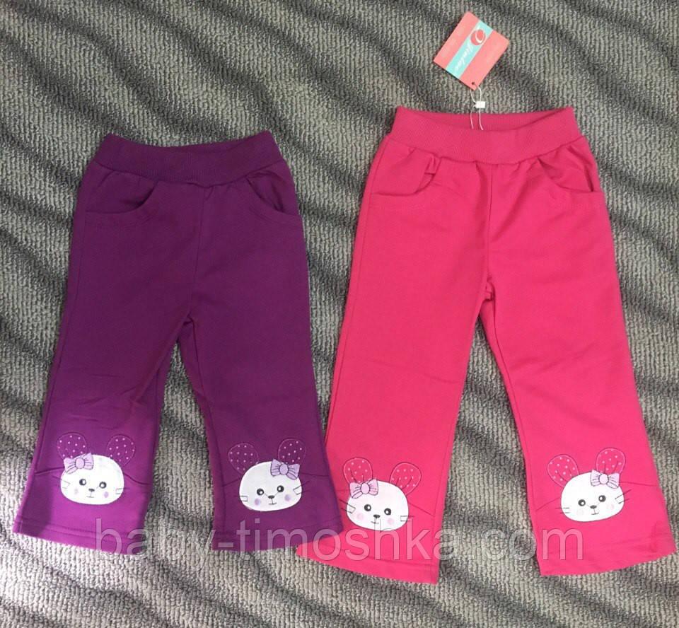 Спортивные штаны для девочек на 6 мес.