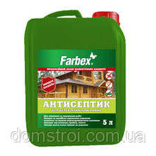 Антисептик для деревянных поверхностей 5 л