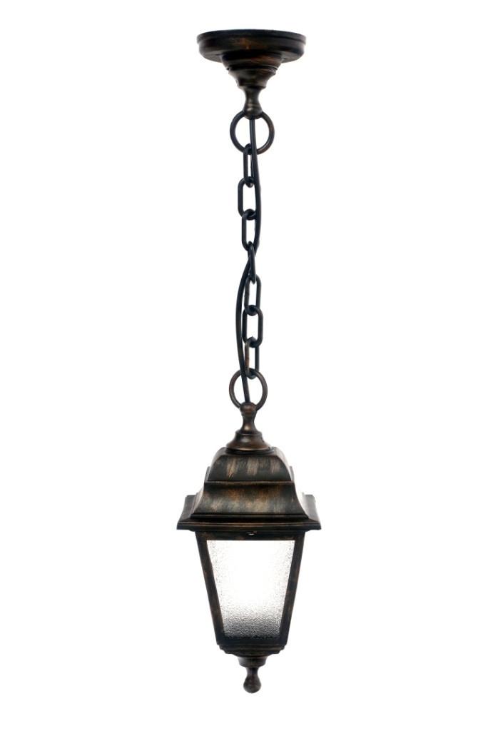 Светильник НСУ 04 Алюминиевый НЛ04 (подвес) матовое стекло бронза