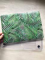 """Дизайнерский прозрачный чехол с тонкими листьями для MacBook Pro Retina 13"""""""