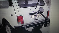 Кронштейн запасного колеса Нива стандарт молотковый
