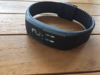 Спортивные силиконовые Led часы gray