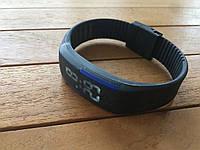 Спортивные силиконовые Led часы blue
