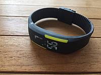 Спортивные силиконовые Led часы yellow