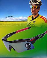 Очки для спорта с сине-зелеными линзами Oulaiou