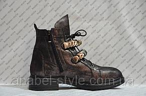 Ботинки весенние женские стильные код 276, фото 3