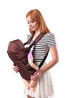 Рюкзак-кенгуру с капюшоном №8 Умка коричневый