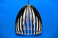 Люстра подвесная на 1 лампочку (ВЛ)  L29470/1 (BK+WT)