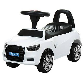 Каталка-толокар для малюків M 3147A-1 AUDI прогумовані колеса