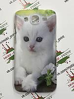 Чехол для Samsung Galaxy Mega 5.8 I 9152 (Котик)