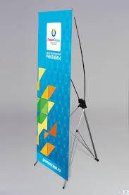 Мобильный стенд паук  x-banner 0,6х1,6 м