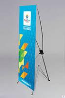 Мобільний стенд павук x-banner 0,6х1,6 м, фото 1