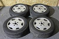 Оригинальные литые диски с резиной (Falken Ziex ZE-914 195/65 R15 91V) Audi R15 5x112 ET 45