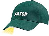 Кепка JAXON с фонариком C зелёная