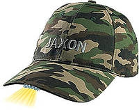 Кепка JAXON с фонариком E камуфляж светлый