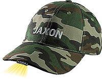 Кепка JAXON с фонариком F камуфляж темный