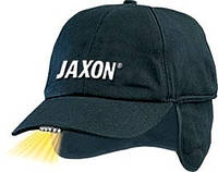 Кепка JAXON с фонариком и ушами A чёрная