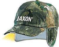 Кепка JAXON с фонариком и ушами B камуфляж