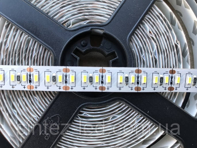 Светодиодная лента Premium SMD 3014/204 12V 6400К IP20 (1м) Код.58847