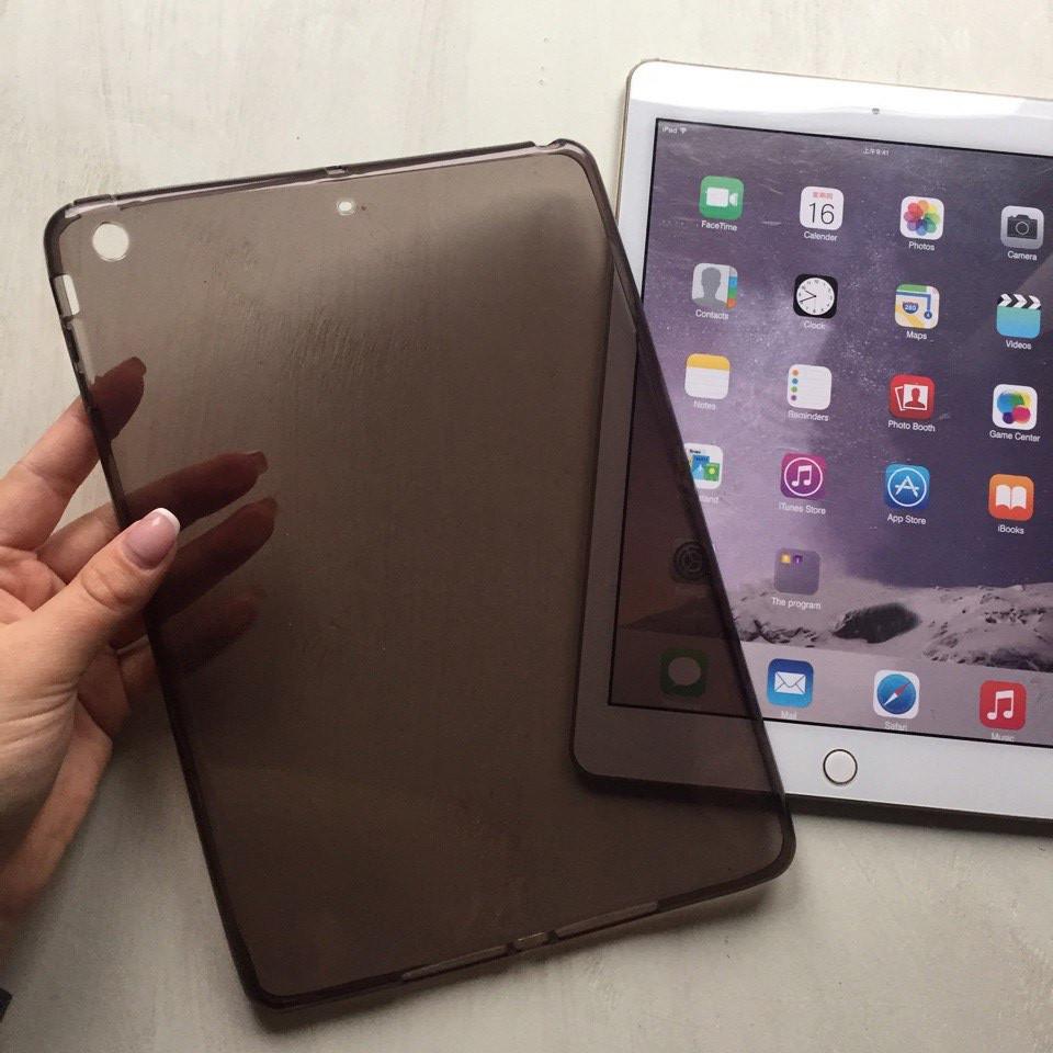 Силиконовая накладка черного цвета для iPad Air 1