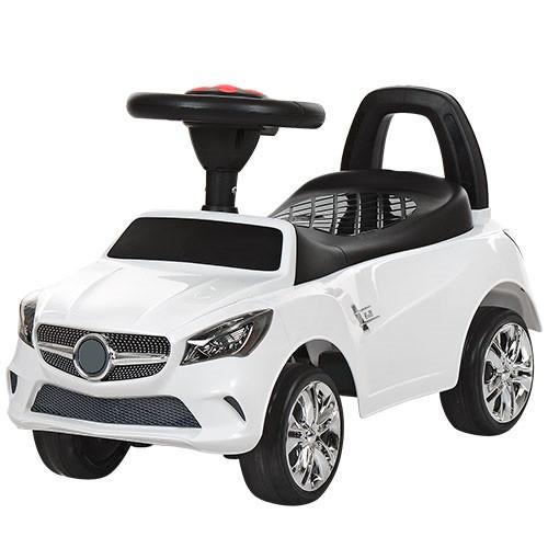 Каталка-толокар для малышей M 3147C-1 Mercedes прорезиненные колеса