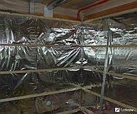 Фольга алюминиевая для бани плотная 300мкм