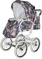 Детская Универсальная коляска Geoby Retro - с надувными колесами, москитка, дождевик