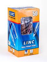 """Ручка шариковая/масляная """"Candy"""" синяя 0,7 мм, LINC 411635"""