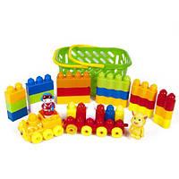 Конструктор для малышей в корзинке 02-306 Kinderway