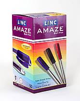 """Ручка шариковая/масляная """"Amaze"""" синяя 0,7 мм, LINC 411637"""