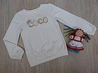 Трикотажная блуза для девочки COCO