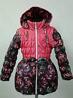 Курточка на девочку деми  110р.