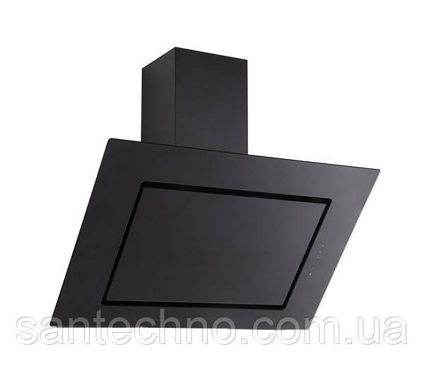 Вытяжка наклонная для кухни Fabiano Aero 90 Black Glass Silence+