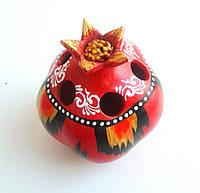 Карандашница Гранат из керамики. Узбекистан