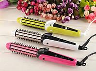 Многофункциональный Утюжок Плойка Щипцы для Волос Nova 3 в 1 Hair Care StylersСтайлер
