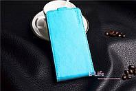 Чехол флип для телефона Huawei Ascend Y625 цвет skyblue
