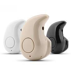 Беспроводная Bluetooth блютуз гарнитура S530 (белая,серая черная), фото 3