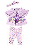 Одежда для кукол Беби Борн костюм Набор бабочки Baby Born Zapf Creation 823545 Butterfly Set, фото 1