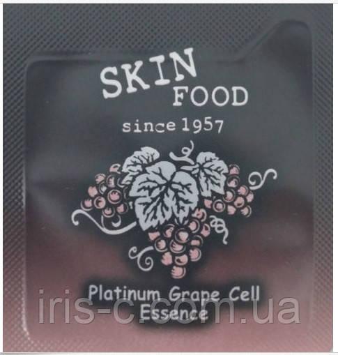 Эссенция с экстрактом винограда и платиной SKINFOOD Platinum Grape Cell Essence 2г