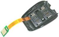 Переходник на 2 SIM (со шлейфом) меню