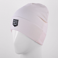 Вязаная шапка белая