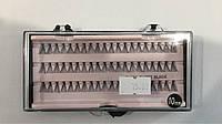 Пучки для ресниц 10 мм на планшете розовом