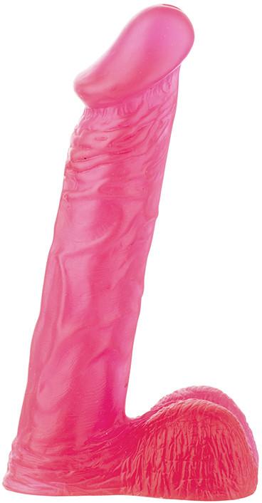 Фаллоимитатор Xskin 8 PVC dong - Transparent Pink